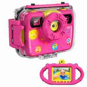 1080P Action Child Gift Cameras (Pink)