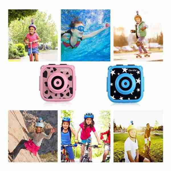 Kids Waterproof Camera with Video Recorder