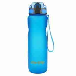Sports Water Bottle 35oz 1000ml-Leak Proof Lid Bottle