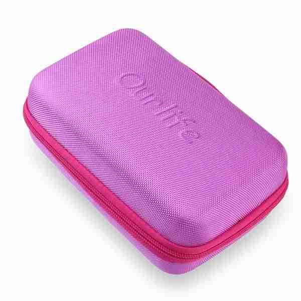 Kids Camera Bag Hard Travel Case (Purple)